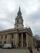 St Martin in the Fields is one of the most photographed churches in London...