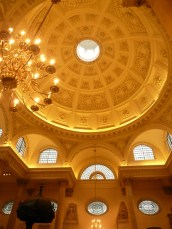 The coffered dome