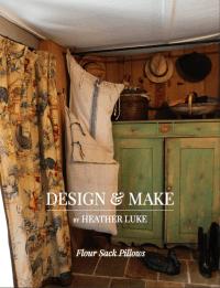 Flour Sack Pillows - Design and Make
