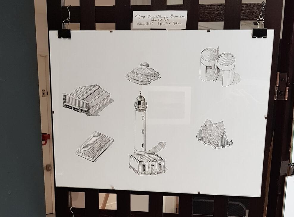 Design and more & More illustration art dessin aquarelle DUC Thomas Ducourneau Boutique affiche reproduction carte vente