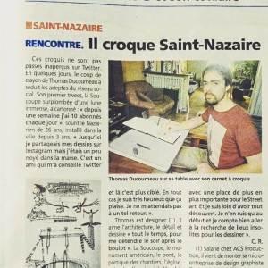 Article Presse Presqu ile Océan Thomas Ducourneau DUC