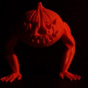 Design and more impression 3D citrouille halloween