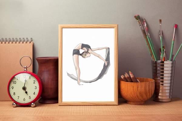 illustration-art-dessin-encre-design-and-more-boutique-saint-nazaire-DUC-circle-dance