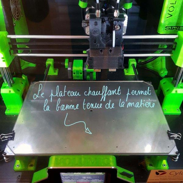 plateau de chauffe imprimante