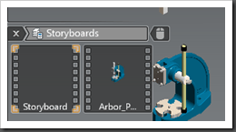 Autodesk Inventor Publisher Current Storyboard