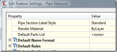 Civil 3D – XML Pipe Import Parts Catalog problem