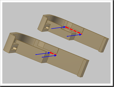 Inventor – Top Down Design and Manufacturing Limitations
