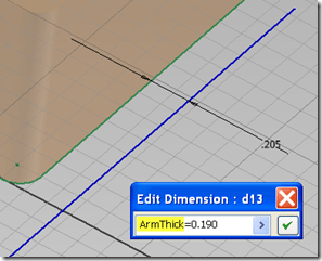 Inventor – Direct Parameter Naming Tip