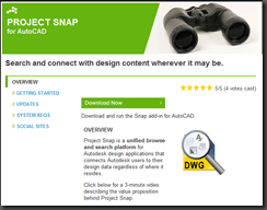 Autodesk Labs – Project Snap