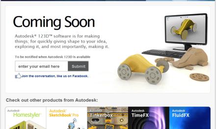 Autodesk enters the DIY 3D Prototyping Market