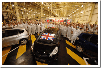 Honda UK facility