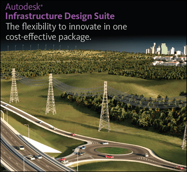 Autodesk Infrastructure Design Suite 2012 is Available