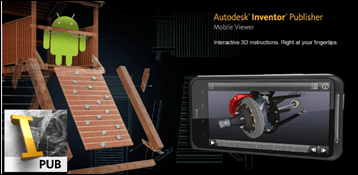 Autodesk Publisher Viewer is available for Android