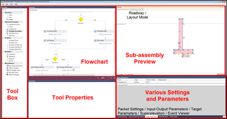 Autodesk Subassembly Composer layout