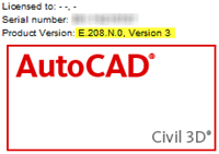 AutoCAD Civil 3D SP2