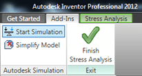 Autodesk Inventor Send to Simulation Export