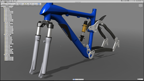 Autodesk Inventor Fusion TP for Mac