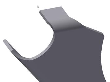 Autodesk Inventor 2012 Sheet Metal Bent