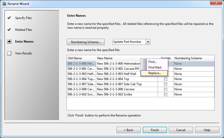 Autodesk Vault | Vault UI – Replace All