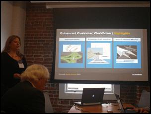Dana Probert and Transportation at Autodesk Media Summit 2012