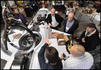 Hawkes Ocean Technologies Tour at Autodesk Media Summit 2012
