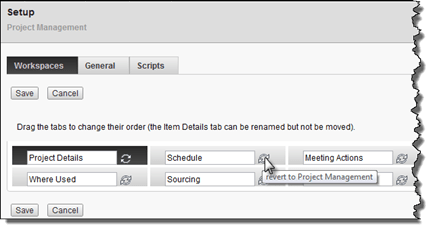 PLM 360 | The Project Management Tab