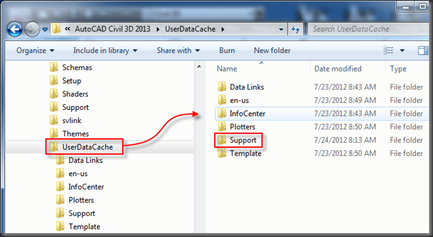 Civil 3D | Clear Your User Cache