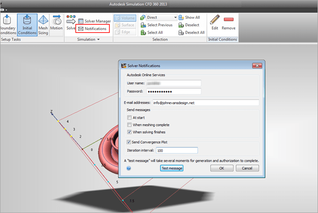 Simulation CFD | Cloud Solver Notifications