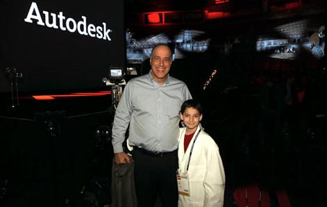 Carl Bass and Schuyler St. Leger at Autodesk University