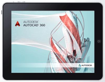 Autodesk AutoCAD 360 Web and Mobile App