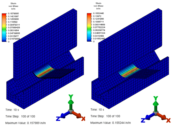 Autodesk Simulation Mechanical Sheet Metal Brake Study