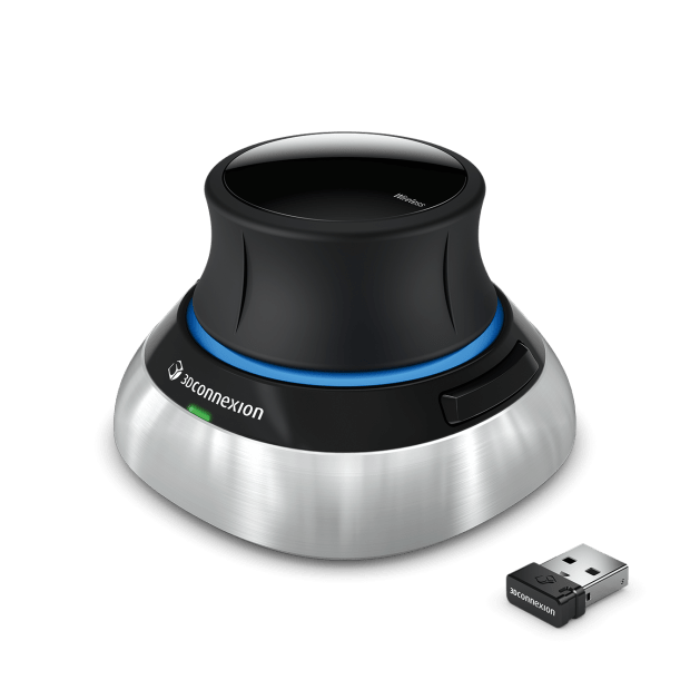 3Dconnexion SpaceMouse Wireless with USB dongle