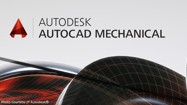 AutoCAD Mechanical Logo Graphic