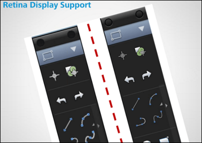 AutoCAD 2014 Mac Retinal Display Support