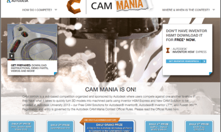 Announcing CAMMania at Autodesk University 2013