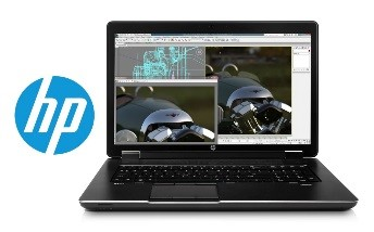 HP ZBook 17 inch mobile workstation