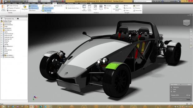 Autodesk Inventor Petrikas P2 Ray Trace Rendering