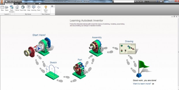 Autodesk PrDS 2015 Learning Experience