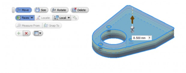 Autodesk Inventor 2015 Direct Edit
