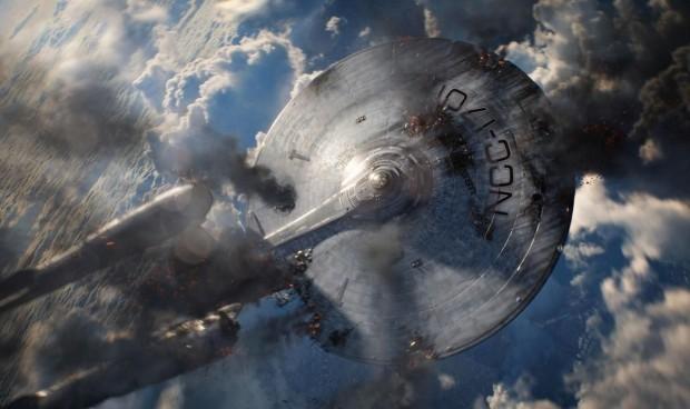 Star Trek Enterprise Crashing
