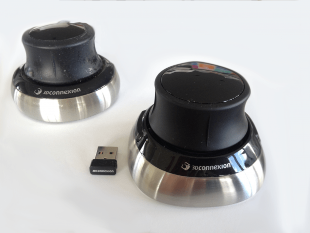 Old 3Dconnexion Navigator Vs New 3Dconnexion SpaceMouse Wireless