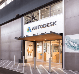 Autodesk Workshop at Pier 9 Entrance