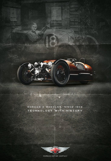 Germano Vieira Morgan motor Company Ad Entry