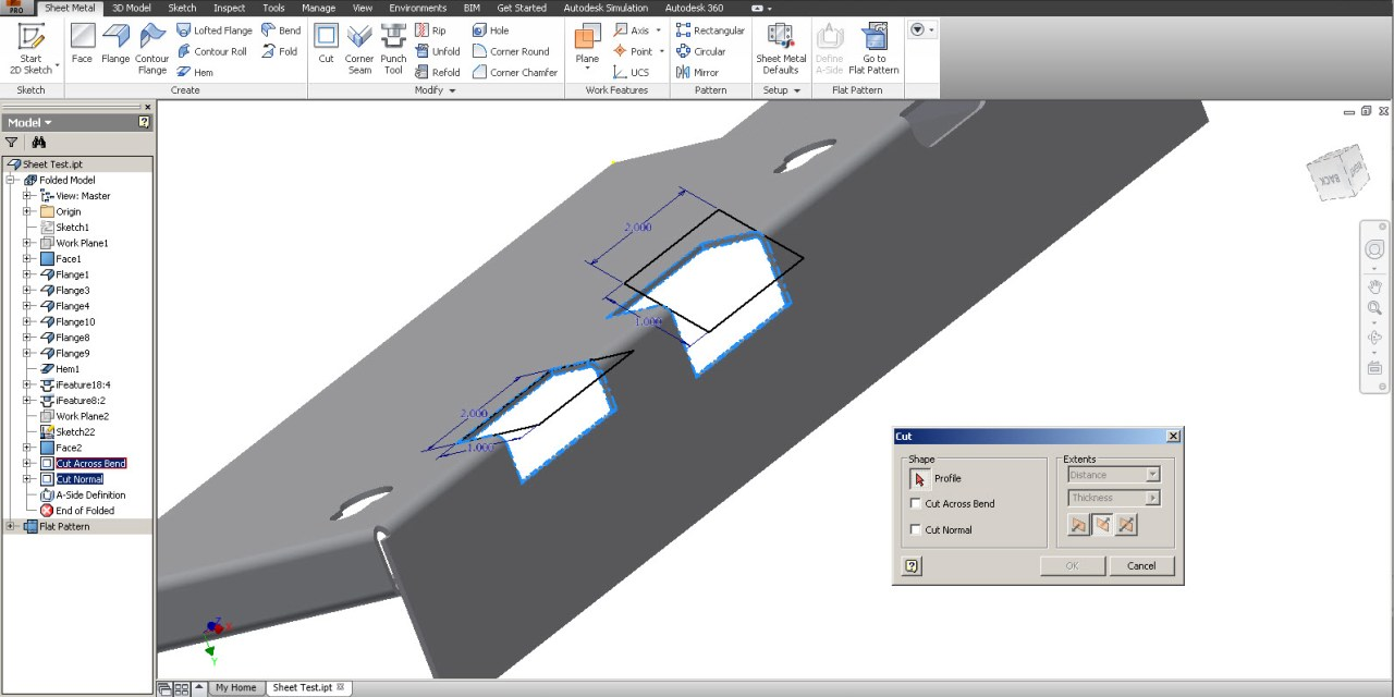 Autodesk Inventor 2015 Sheet Metal packs a punch
