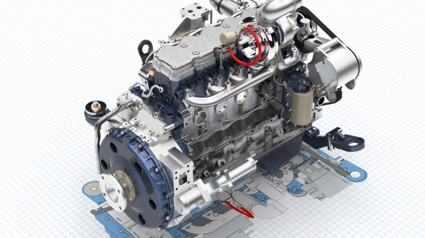 Siemens Solid Edge ST7 Engine Rendering