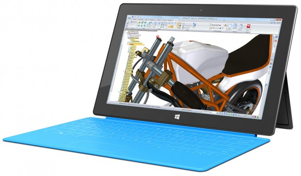 Solid Edge ST7 Microsoft Surface Pro