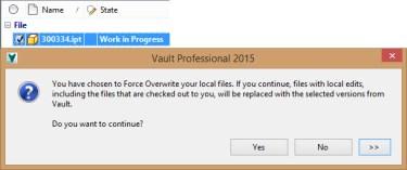 VC Same Version CO GET_FORCE_DL