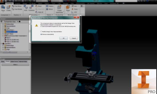 "Inventor | View Representations – You just clicked ""Ok,"" didn't you?"