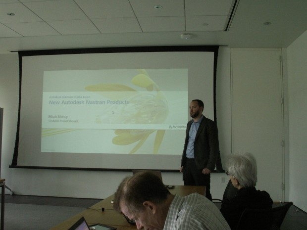 Autodesk Simulation Nastran Launch Mitch Muncy