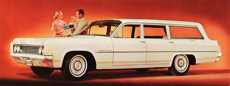 1963 Oldsmobile Dynamic 88 Fiesta Station Wagon